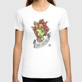 Beware Medusa Girl T-shirt