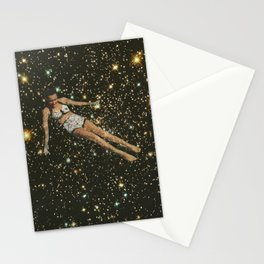 Bathing in the universe Stationery Cards