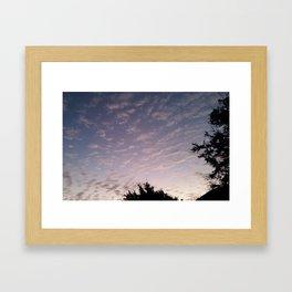 Texas Hill Country Sky - Sunrise 1 Framed Art Print