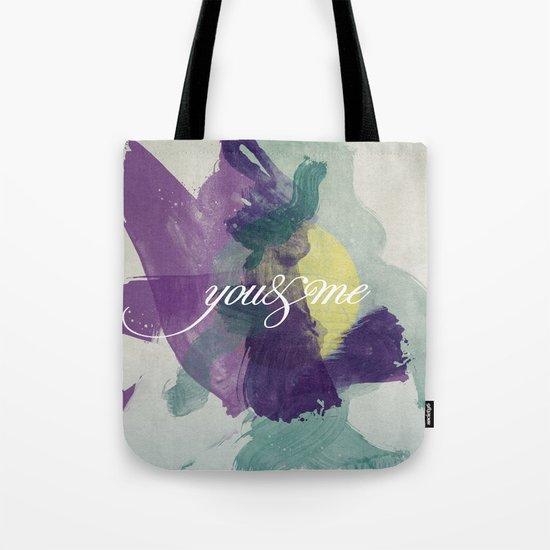you&me Tote Bag