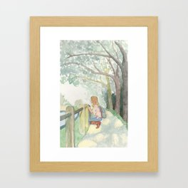 English Park III Framed Art Print