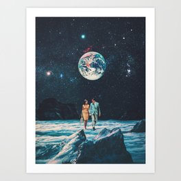 I promise You we will be Back Soon Art Print