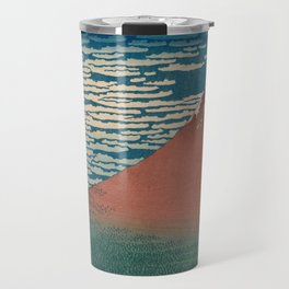 Fine Wind, Clear Weather also known as Red Fuji Travel Mug