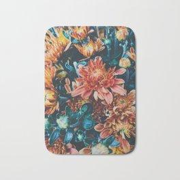Fall Flowers Bath Mat