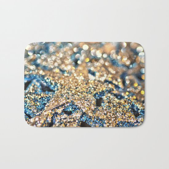 Starry Wishes and Bokeh Dreams... Bath Mat