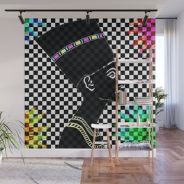 Queen Nefertiti Punk Star of the Nile Wall Mural