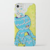 health iPhone & iPod Cases featuring Mental Health by Frenemy