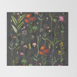 Exquisite Botanical Throw Blanket