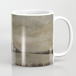 Windmills at Kinderdijk Holland Coffee Mug