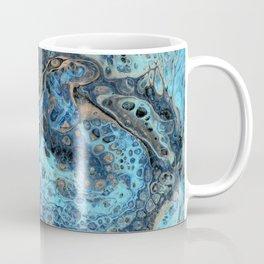 Lapis Lazuli 1 - Acrylic Flow Abstract Coffee Mug