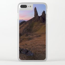 The Old Man of Storr Clear iPhone Case