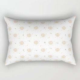 Lion Pattern Rectangular Pillow