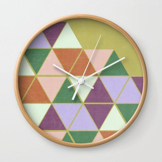 Hexaflexagon Wall Clock
