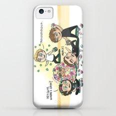 Flower Fight iPhone 5c Slim Case