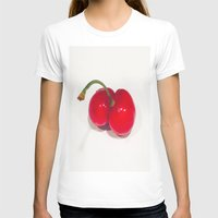cherry T-shirts featuring Cherry by Jose Luis