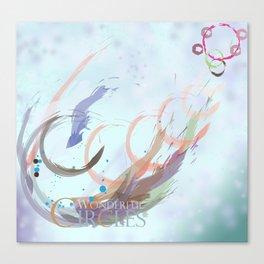 Wonderful Circles Canvas Print