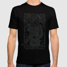 The evil plague LARGE Mens Fitted Tee Black
