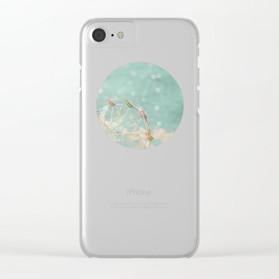 Candy Wheel Clear iPhone Case