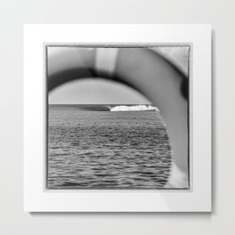 Maldives, Surfing in the Northern Atolls Metal Print