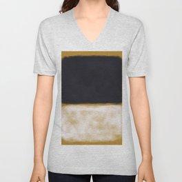 Rothko Inspired #10 Unisex V-Neck