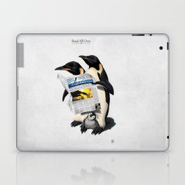 Read All Over Laptop & iPad Skin