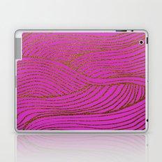 Wind Hot Pink Gold Laptop & iPad Skin