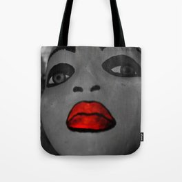 DearSoulie and Her Red Lips: Solid Baby Tote Bag
