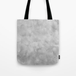 Soft Gray Clouds Texture Tote Bag