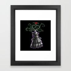 Gothic Dress Framed Art Print
