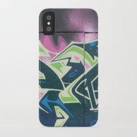 graffiti iPhone & iPod Cases featuring Graffiti by Chrissy Gensch