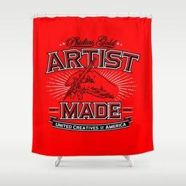Artist Made Shower Curtain