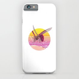 Mosquitoes Small Insects Entomology Insecta Animals Little Fly Gift iPhone Case