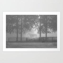 mist land3 Art Print