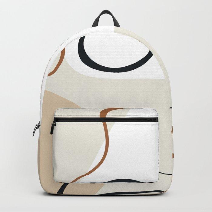 abstract minimal 15 Backpack