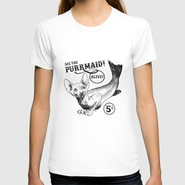 The Purrmaid T-shirt
