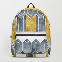 Turtle Shell Geometric | Art Deco Backpack