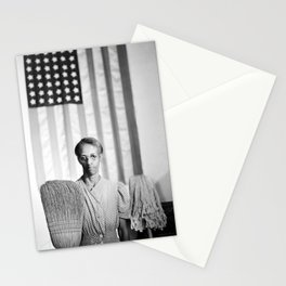 American Gothic by Gordon Parks Stationery Cards