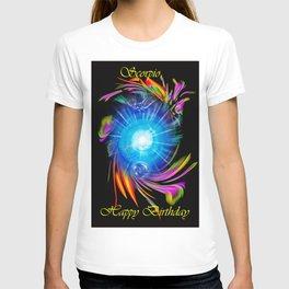 Zodiac sign Skorpio Happy Birthday T-shirt