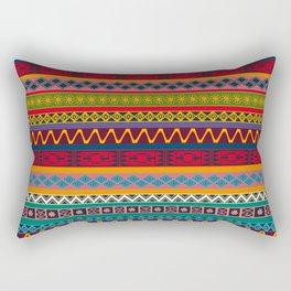 African pattern No4 Rectangular Pillow