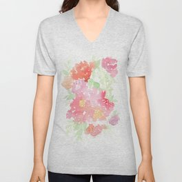 Deconstructed Bunch Unisex V-Neck