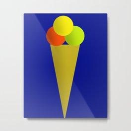 Ice Cream Cool Metal Print