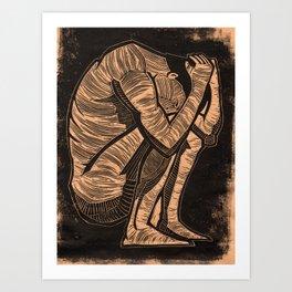 Depression Art Print