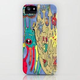 Downton Crabbey iPhone Case