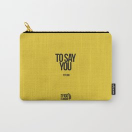 PI TI DIR Carry-All Pouch