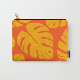 Monstera Leaf Print 1 Carry-All Pouch