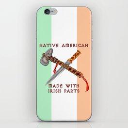 Native American/Irish iPhone Skin