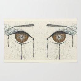 Sad Eye Rug