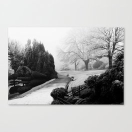 Winters tale Canvas Print