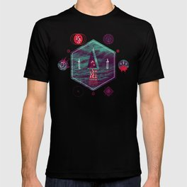 It fell from the stars, It rose from the sea T-shirt