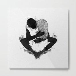 Passionate love. Metal Print